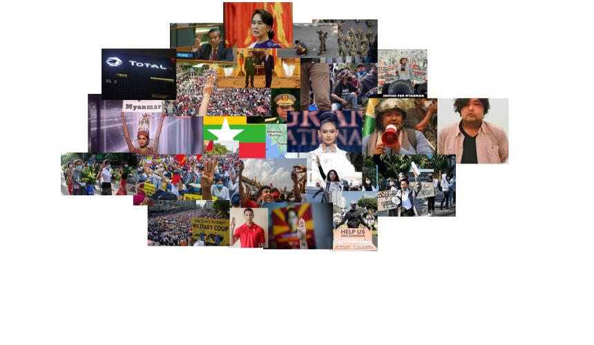 미얀마 저항 & 연대의 목소리